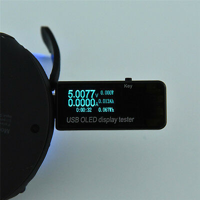 OLED Current Voltage Meter Tester Charger Power Bank Battery Capacity Monitor