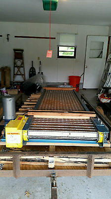 Steeltrak Conveyor New London Engineering Heavy duty New old stock