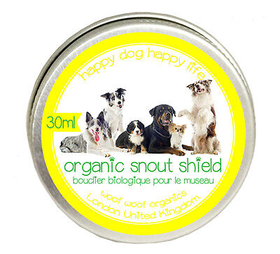 Dog  Snout Shield Balm Made from Organic Natural Ingredients Handmade in Norfolk