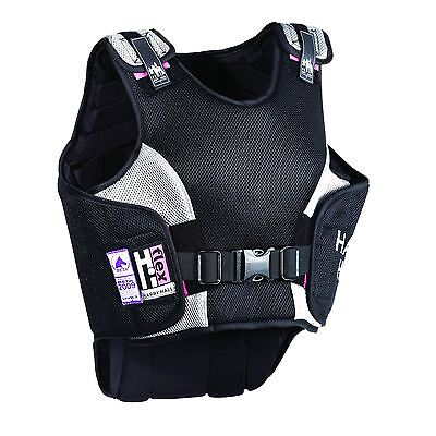 Harry Hall Hi Flex Body Protector - Ladies Rider Safety Lightweight Elasticated