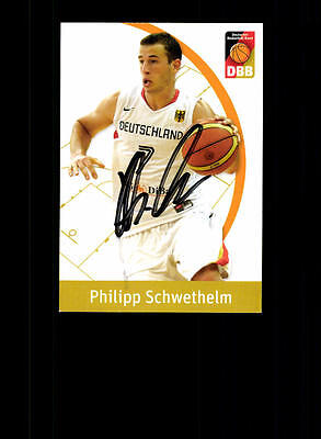 Philipp Schwethelm Deutscher Basketball Bund Original Basketball + A 157070