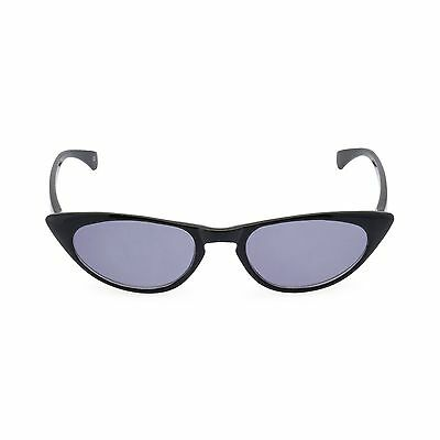 Retro vintage style 50s CAT EYE Sunglasses or Sun Readers 'PEGGY' Black