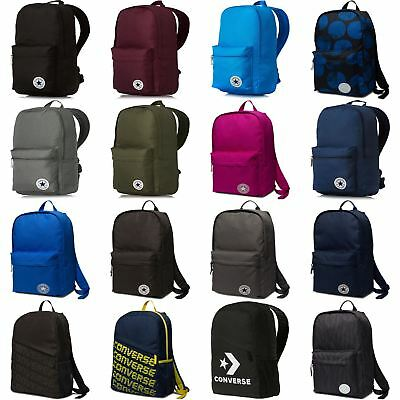 Converse All Star Core Backpack Rucksack Bag - Black, Blue, Grey, Red, Pink