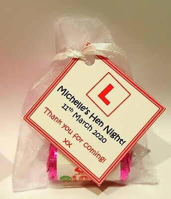 Hen Party Favours * Hen Night - Personalised * Mini Love Hearts Party Bag Gifts
