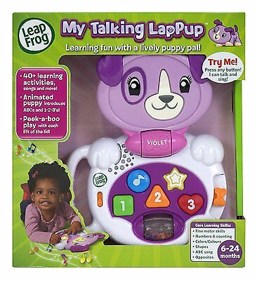 LeapFrog My Talking LapPup (Violet)