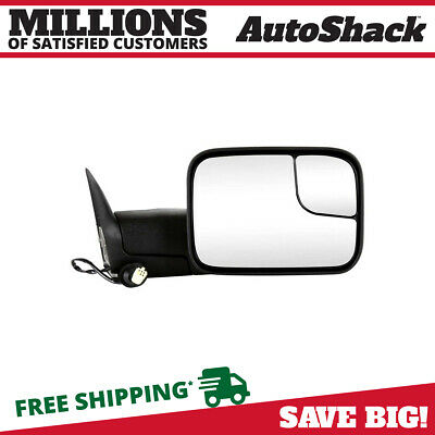 Power Heated Folding Extendable Right Side Mirror Fits 1998-2002 Dodge Ram 1500