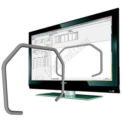 Bend Tech EZ Layout Software Tube Bending Pipe Bender