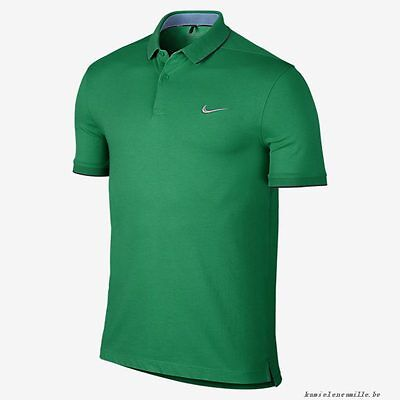NIKE DRY WASHED MEN'S GOLF POLO SHIRT Green NEW L 725557-319