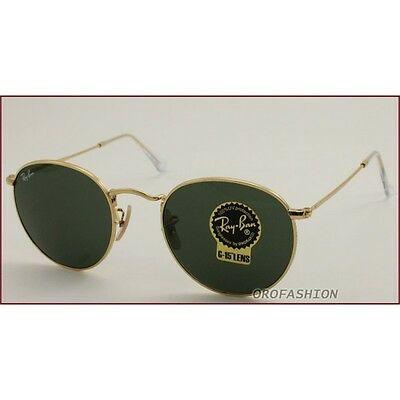 Occhiali sole Ray Ban Round Metal - RB3447 001 50 RAYBAN