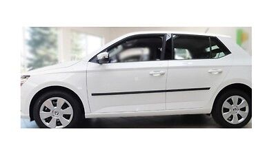 Moulding Side Protector Door Protection for Skoda Fabia 3 Hatchback/5-doors 15-