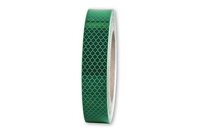 10m x 25mm 3M™ Reflex Ribbon Diamond Grade™ RA3/C 4090 Reflex Foil Green