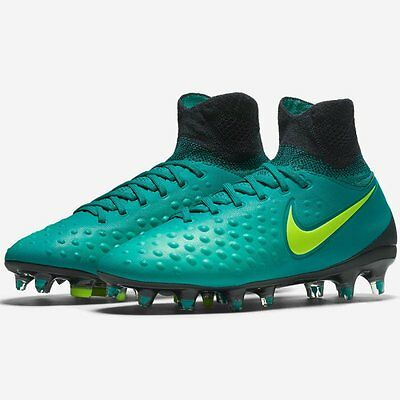 Nike Kids Jr. Magista Obra Ii Fg Football Sock Boots New 844410-375 Uk 3.5