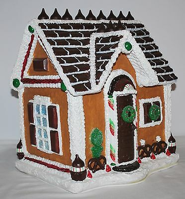 Hershey's Kisses Gingerbread House Byers Choice Ltd. Rare New in Box