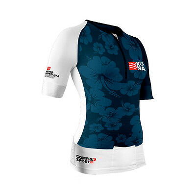 Compressport Women's Kona TR3 Aero Triathlon Top - KAEROTOPW