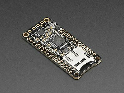 Adafruit Music Maker FeatherWing Feather Board MP3 OGG WAV MIDI w/ Stereo 3W Amp