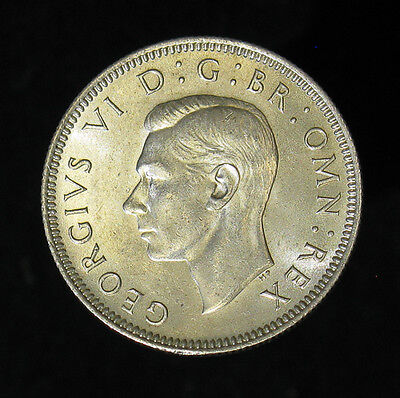 1946 Great Britain Shilling silver coin Brilliant Uncirculated BU