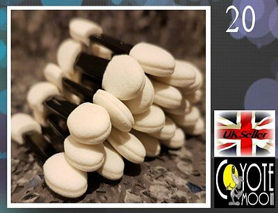 High Quality Eye Shadow Applicators Soft Double Ended UK Seller