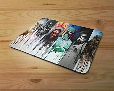 Star Wars Characters Starwars Fan Art Rubber Mouse Mat PC Mouse Pad D37