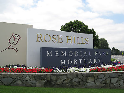 rose hills cemetery plots
