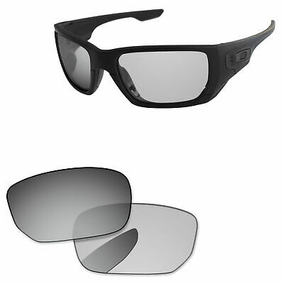 9f33c8a9cb2 PapaViva Grey Photochromic Polarized Replacement Lenses For-Oakley Style  Switch