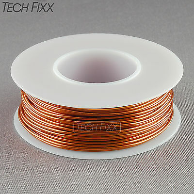 Magnet Wire 18 Gauge AWG Enameled Copper 55 Feet Coil Winding & Crafts 200C