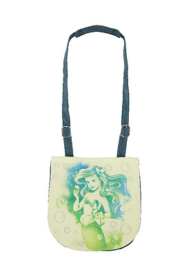 Disney Parks Crossbody Bag - The Little Mermaid Princess - ARIEL Canvas - NEW!