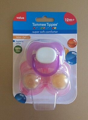 Tommee Tippee dummie, discontinued 12m + FREE EXPRESS POSTAGE, NEXT BUSINESS DAY