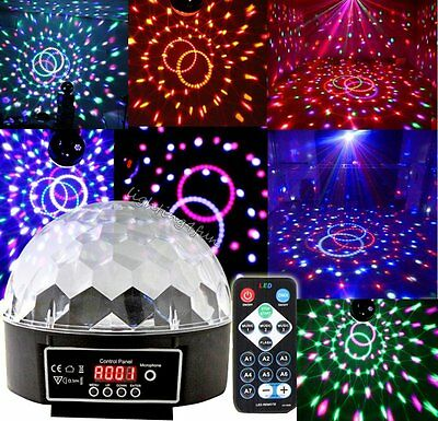 7 Channel DMX-512 LED Magic Ball Stage Laser Light Party Dance Projector Strobe