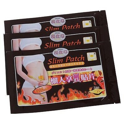 30PCS Slimming Navel Stick Slim Patch Weight Loss Burning Fat Patch