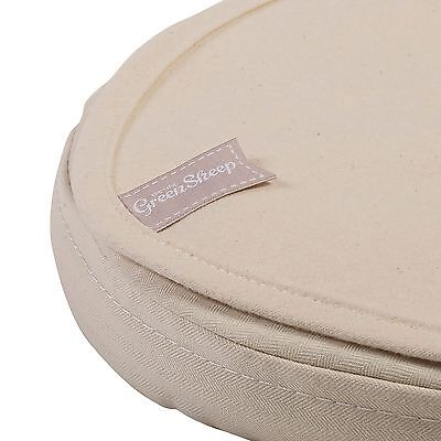 The Little Green Sheep Mattress Protector - Oval Stokke Sleepi Mini - 60 x 75cm