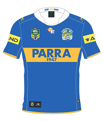 Parramatta Eels 2017 Heritage Jersey Mens, Womens & Kids Sizes Available Blades