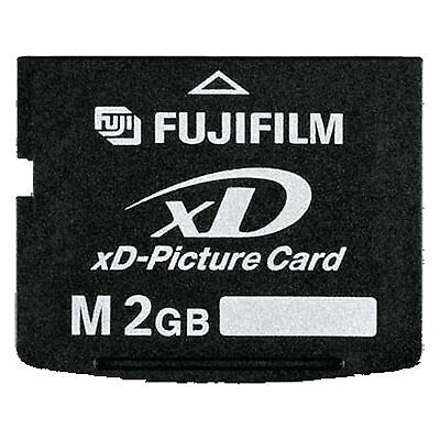 Fujifilm XD 2GB Picture Card Type M Genuine Brand New Free Shipping With Case
