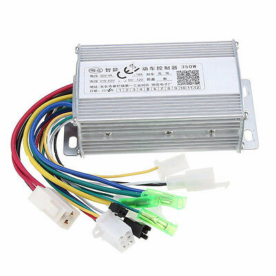 36V/48V 350W Brushless Controller For E- bike Scooter With/Without Hall Sensor