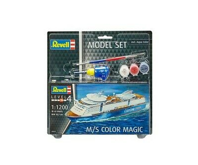 Revell 65818 1:1200 Model Set M/S Color Magic