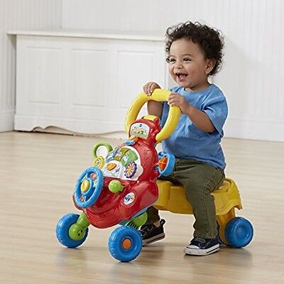 Baby Learning Walker Activity Toddler Infant Safety Walk Assistant Musical 1 Toy