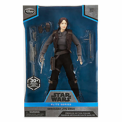 Star Wars Rogue One Elite Series Jyn Erso PREMIUM Action Figure 25cm Height 30+