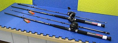 Daiwa 8 ft Line Counter Trolling Combo WLDR802MLR 8'ML /Magda  MA 20D 2 Pack