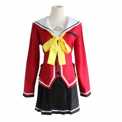 Anime Costumes Charlotte Nao Tomori Cosplay Costume Custom Made Costumes & Accessories