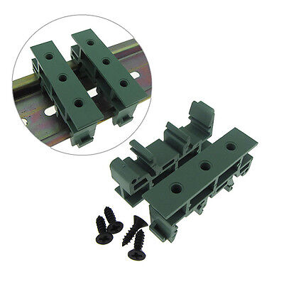 Universal PCB Support Adapter For 35mm Din Rail Track- QTY(2)