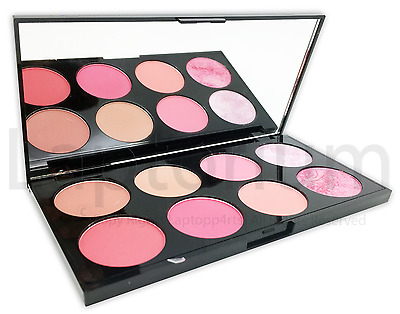 Genuine Makeup Revolution Ultra Blush Palette - Sugar, Spice & Contour Highlight