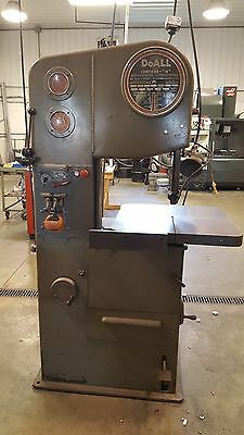 Doall 1612-1  Vertical Band Saw