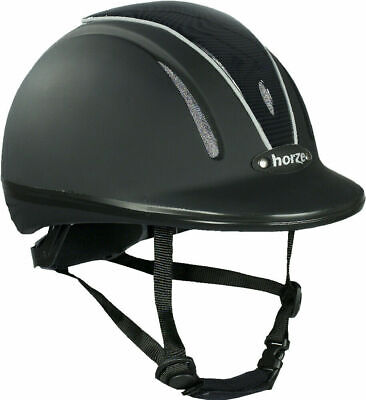 Horze Pacific Defenze Adjustable Helmet VG1 - Horse Riding Hat