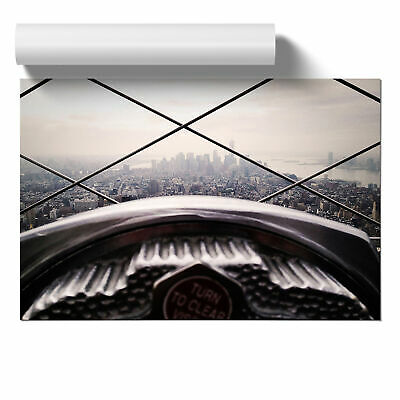 Poster Print Wall Art Empire State Building New York City 7 Landscape Landmark