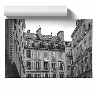 Poster Print Wall Art Architecture French Building Landscape Buildings Décor