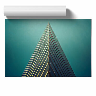 Poster Print Wall Art Architecture Building 3 Landscape Modern Buildings Décor