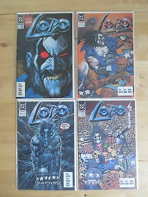 Lobo (1990-1St Series-Dc) # 1, 2, 3, 4 By Keith Giffen & Alan Grant