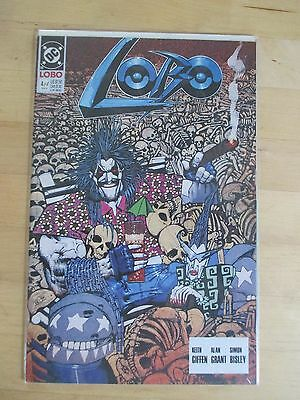 Lobo (1990-1St Series-Dc) # 4 By Keith Giffen & Alan Grant