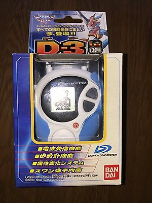 New Digimon Adventure Digivice 02 D-3 V-MON Motomiya Daisuke Color Bandai F/S
