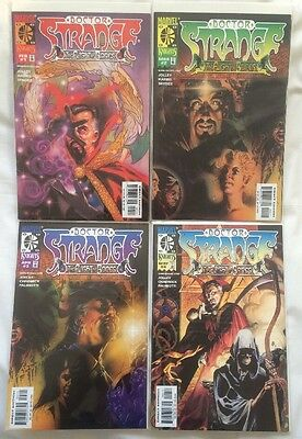 DR STRANGE - FLIGHT OF BONES #1-4 FULL SET x4 COMICS! MARVEL COMICS 1999