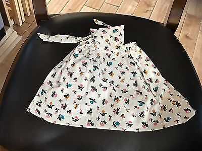 """American Girl 18"""" Doll Felicity Retired Spring Pinner Outfit Gown Apron ONLY"""